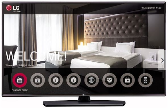 LG Hotel-TV 55LV341H
